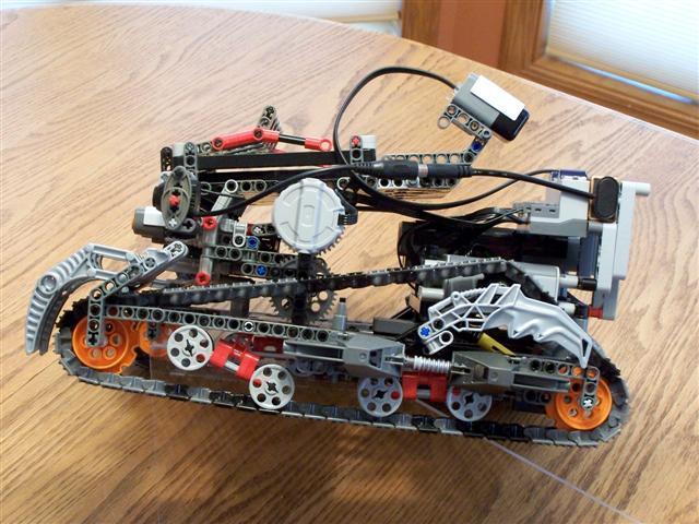 lego mindstorms battle bot building instructions